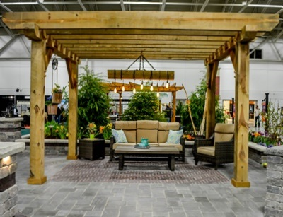 Landscaping Pergola in Southeast Wisconsin