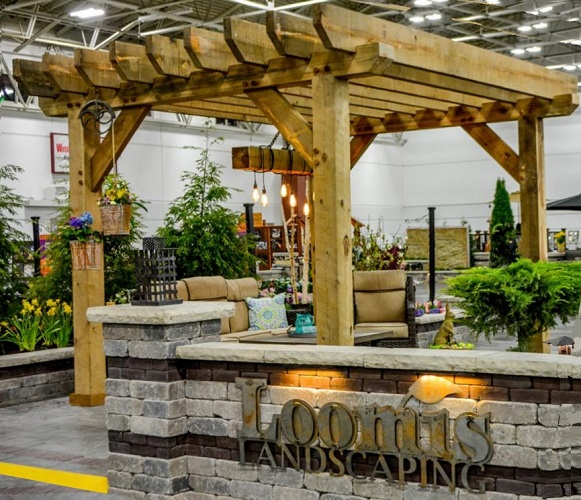 Milwaukee Pergola Designed by Loomis Landscaping