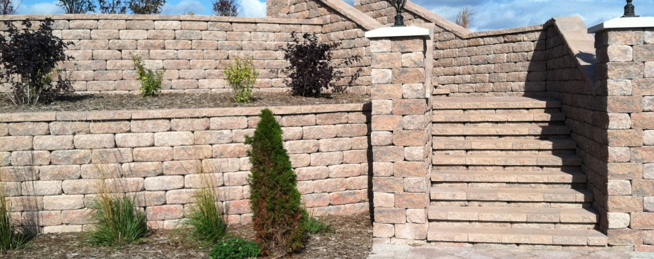 Waterford home improvements like retaining walls, garden design and other landscaping ideas