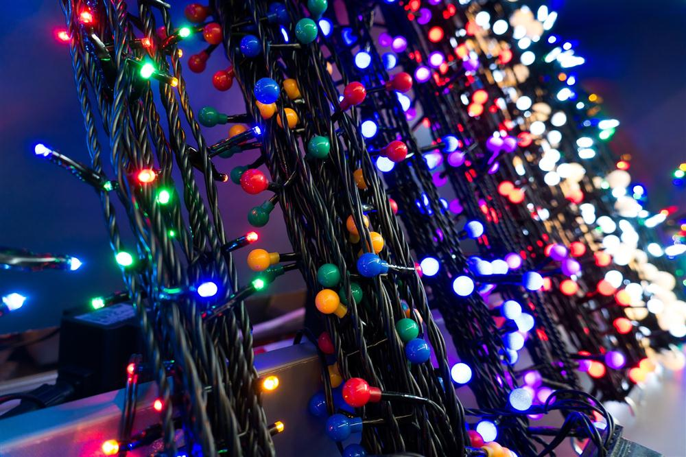 Outdoor Christmas lighting services for homes and businesses